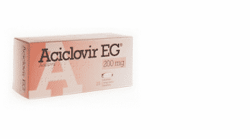 Aciclovir capsule 200mg. Prospect