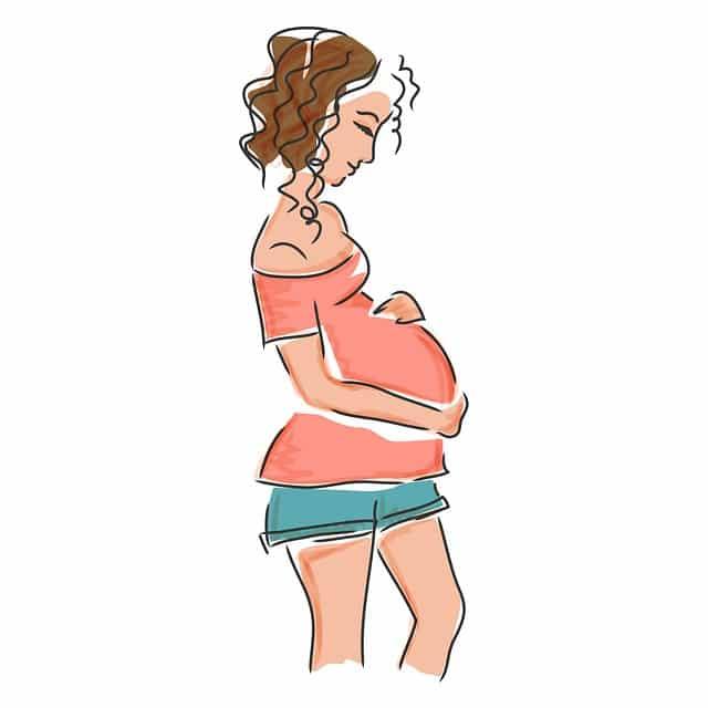 Modificari cutanate fiziologice din cursul sarcinii