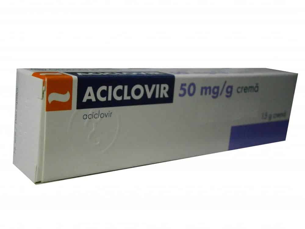 Aciclovir crema