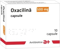 Oxacilina capsule.Prospect.