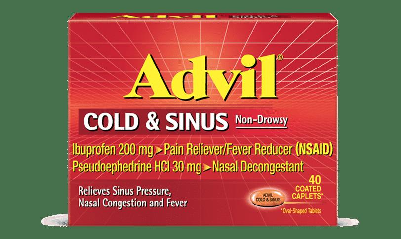 Advil raceala si gripa
