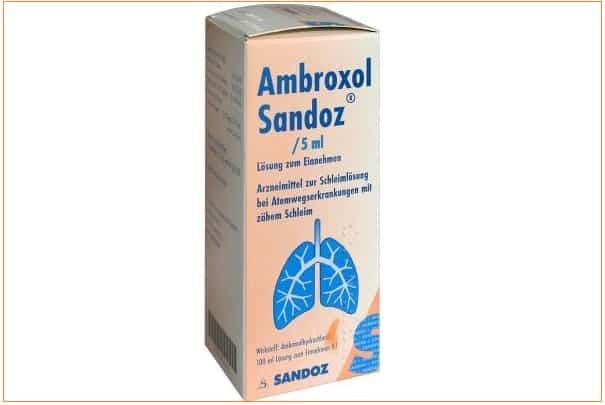 Ambroxol sirop