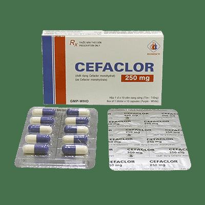Cefaclor capsule.Prospect.