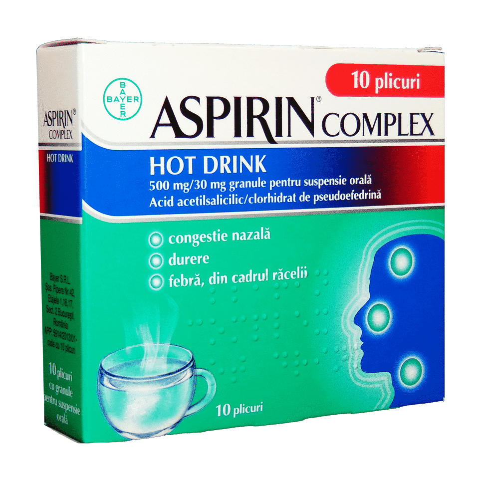 Aspirin Complex Hot Drink