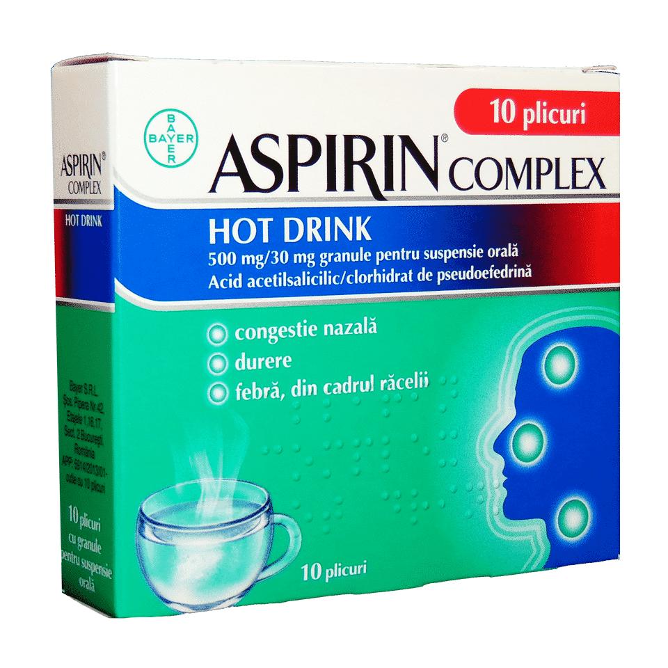 Aspirin Complex Hot Drink