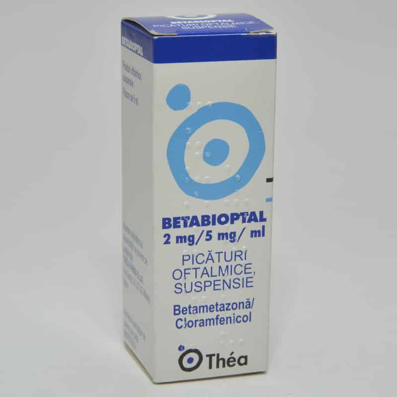 Betabioptal picături oftalmice