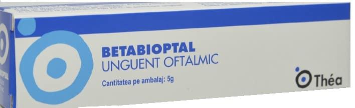 Betabioptal unguent oftalmic