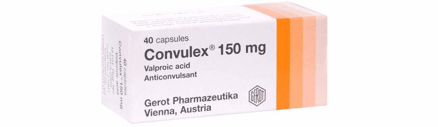 Convulex capsule