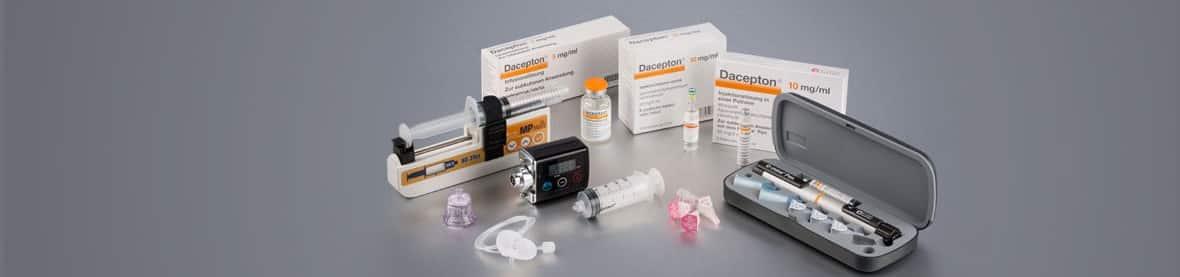 Dacepton soluţie injectabilă în cartus