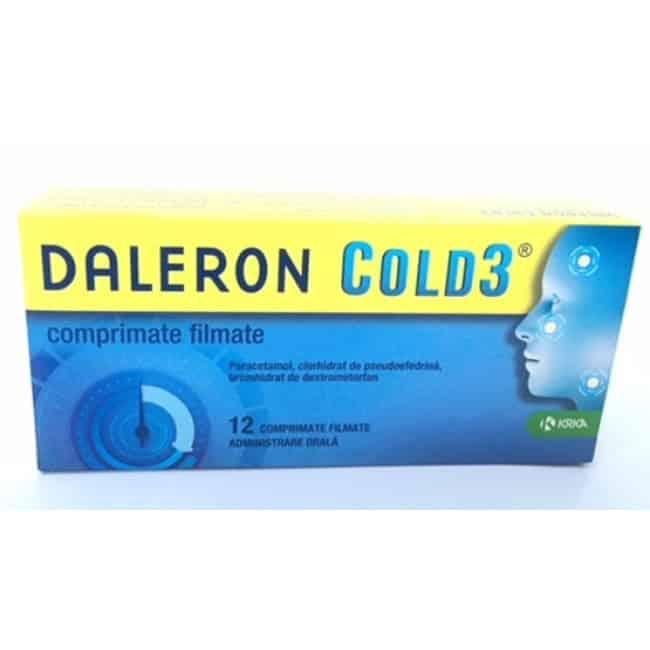 Daleron Cold3 comprimate