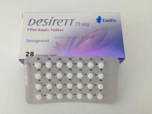 Desirett comprimate filmate